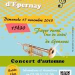Concert d'automne - 17 novembre 2013