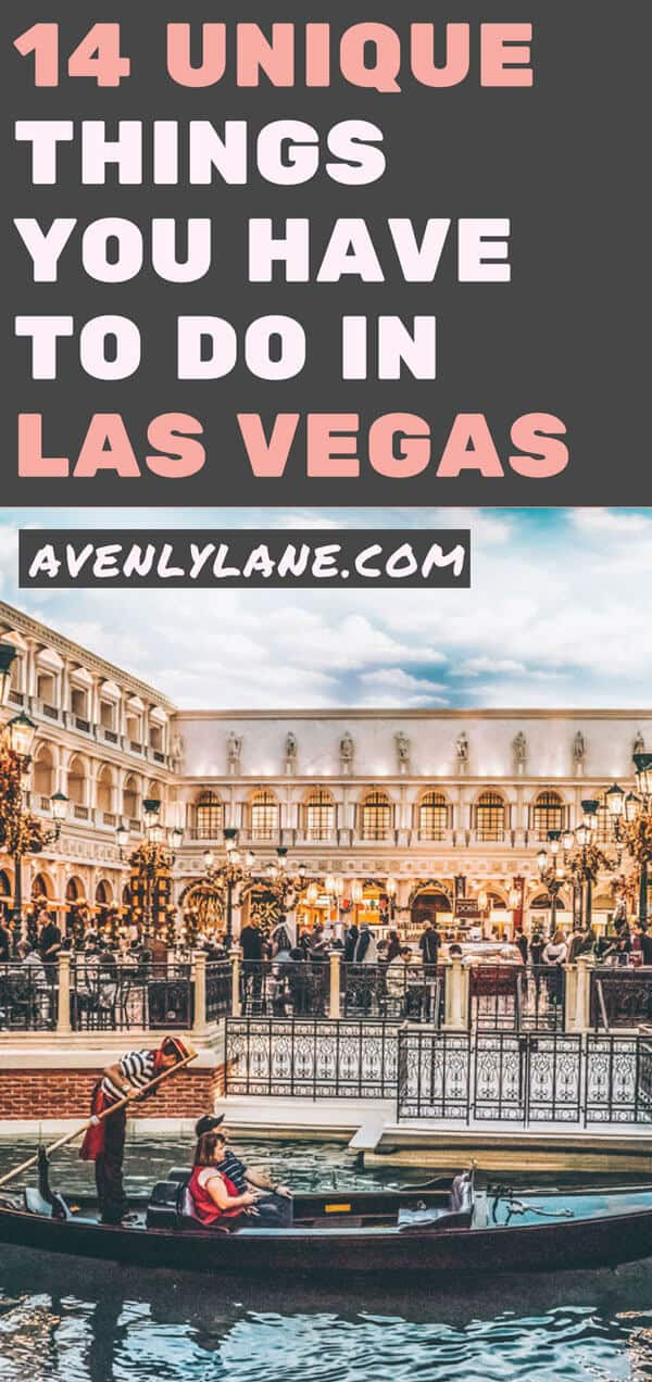 14 Unique Things to do in Las Vegas | Avenly Lane | Fashion, Beauty + Healthy Living