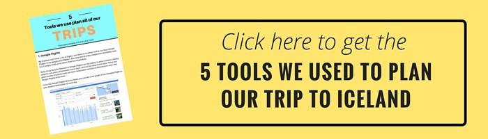 5 tools ICELAND
