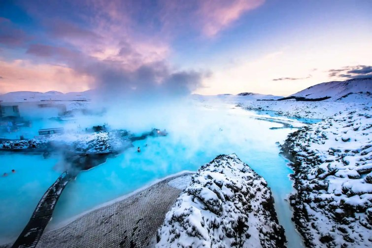 Visiting Blue Lagoon, Iceland!