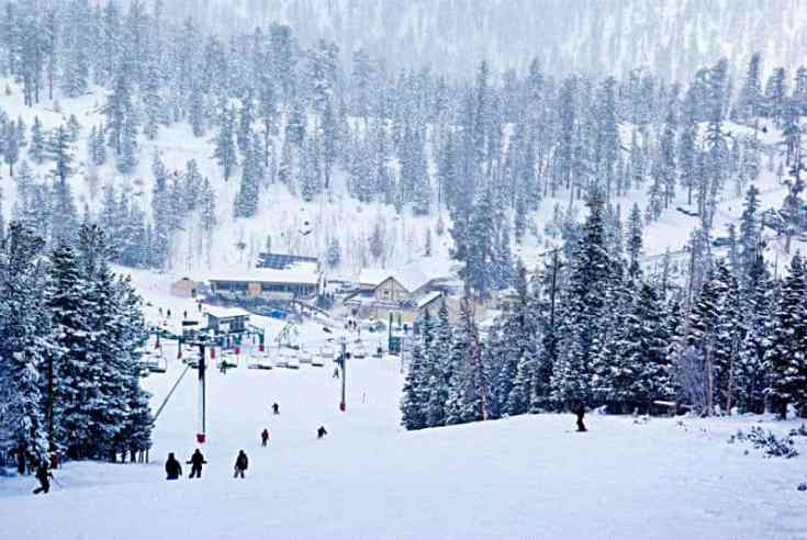 Las Vegas Ski Resort!