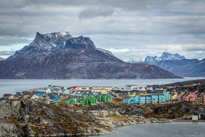 Colorful homes Nuuk Greenland! Click thorugh to see 25 more of the most beautiful villages in the world!