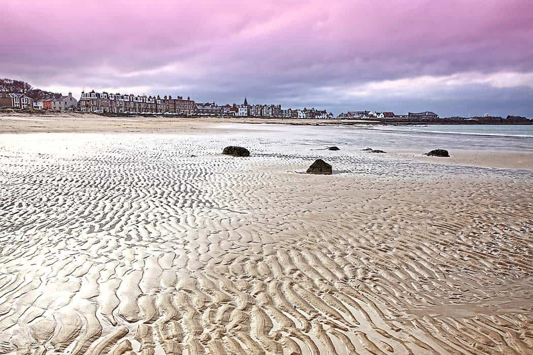 The beach at North Berwick, East Lothian. Click through to check out 28 more mind blowing photos of Scotland!