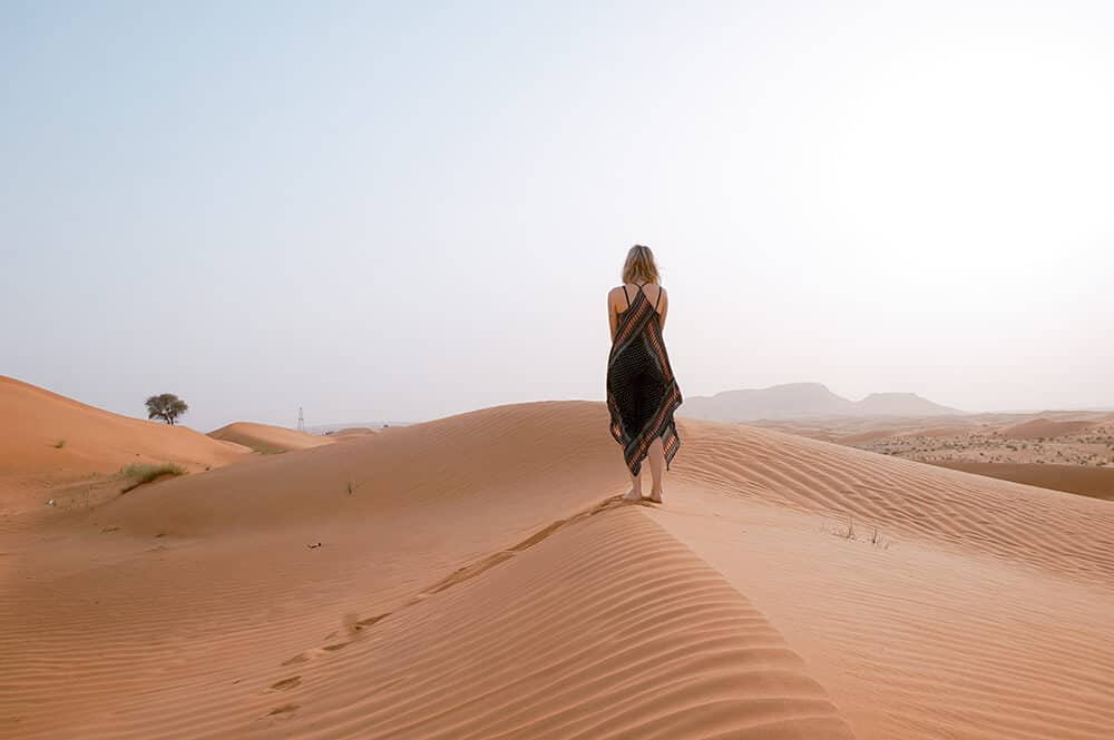 Top 10 things to do in Dubai! Take a desert Safari.