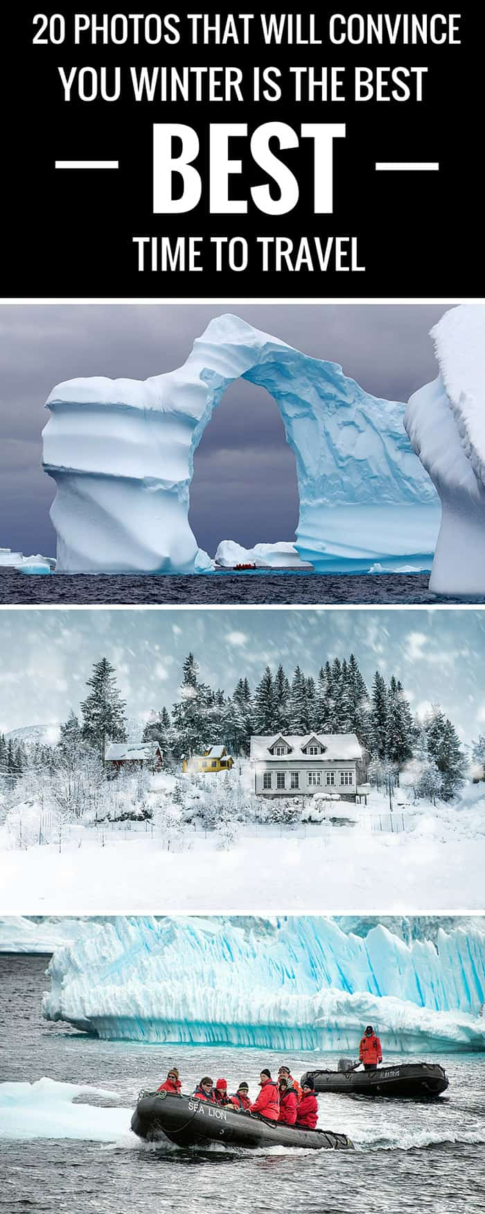 20 Photos That Will Convince You Winter is the BEST Time To Travel!
