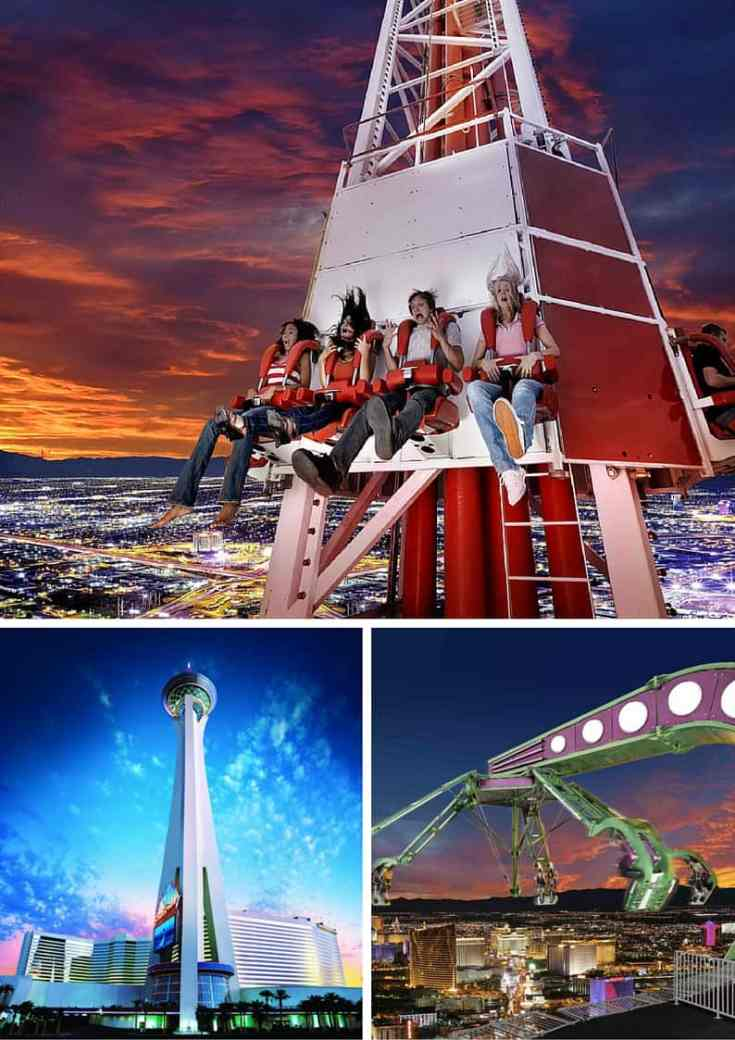 Adventure Rides at the Stratosphere! Read our top 10 list for must see attractions in Las Vegas!