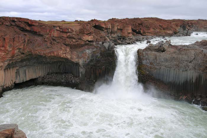 Aldeyjarfoss Waterfalls in North Iceland! Click through to see more amazing waterfalls in Iceland!