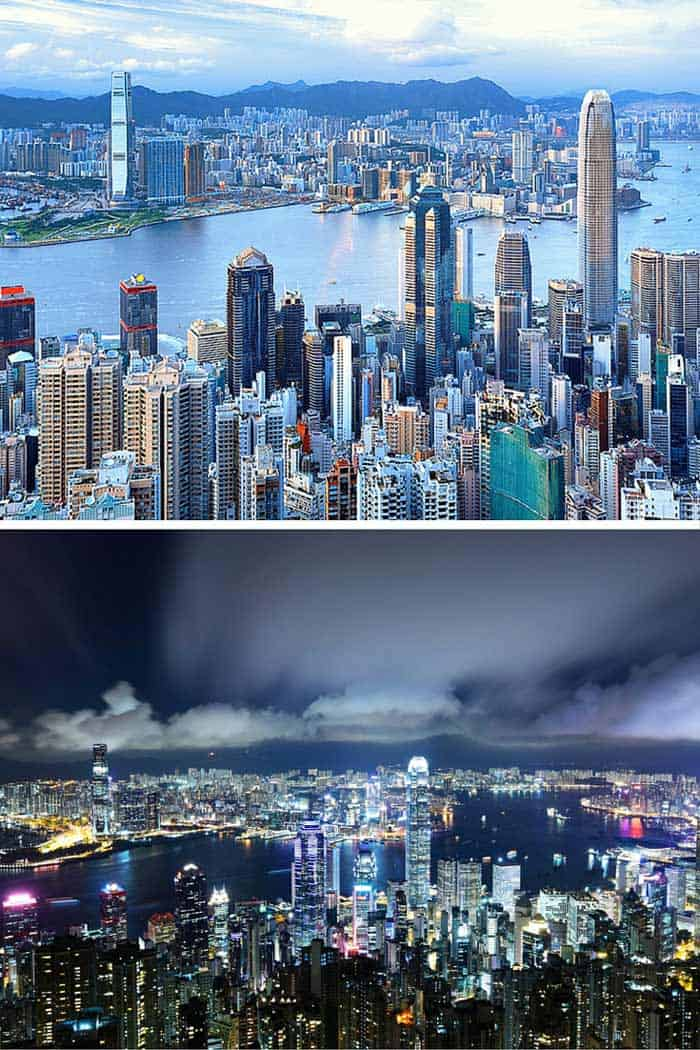Hong Kong features more skyscrapers than any other city, and even though the exact count varies depending on how you define skyscraper, the second place city isn't even close. Click through to see 18 of the BEST skylines in the world!