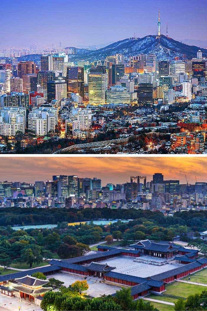 Over half of all South Koreans live in the Seoul metropolitan area. Also, the official name of the city is the Seoul Special City, which I can't help but think is cute. Click through to see 18 of the BEST skylines in the world!