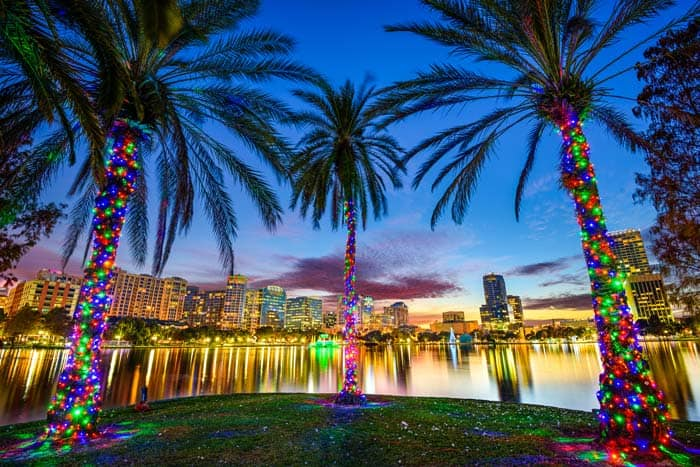 The most popular Florida cities you have to visit! Downtown Orlando.