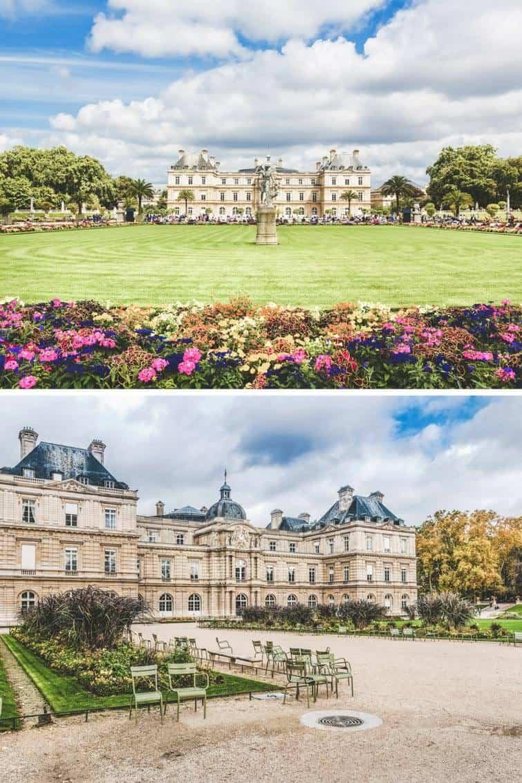 Palais de Luxembourg in Paris, France.