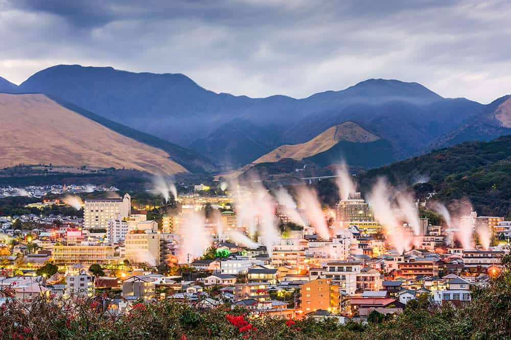 Hot Springs in Beppu City Japan. Planning a trip to Japan for the first time? Here are 10 unique things you should know about Japan!