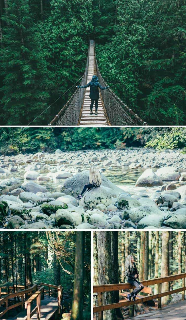 Lynn Canyon Suspension Bridge and Hike! Cool things to do in Vancouver! #Canada #travel
