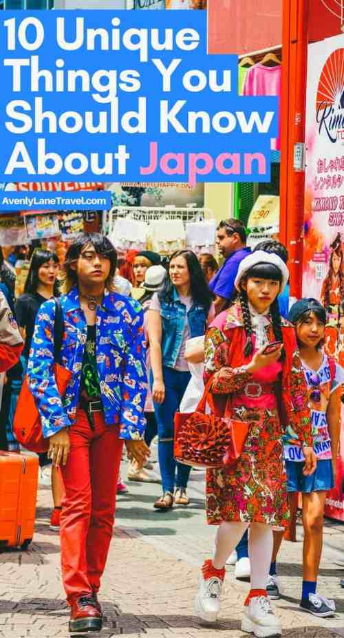 Planning a trip to Japan for the first time? Here are 10 unique things you should know about Japan!