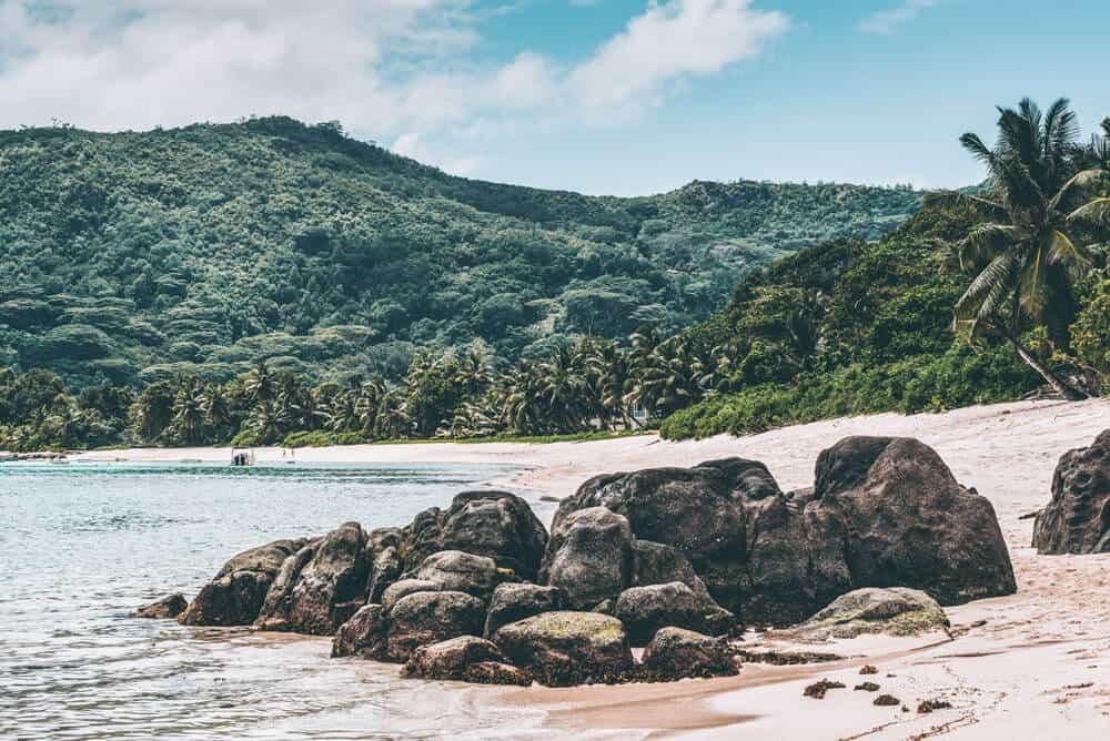Anse Royale Beach in the Seychelles