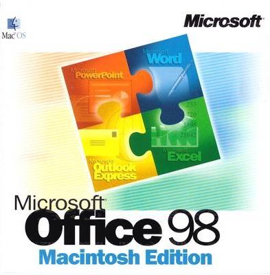 Microsoft Office 98 CD
