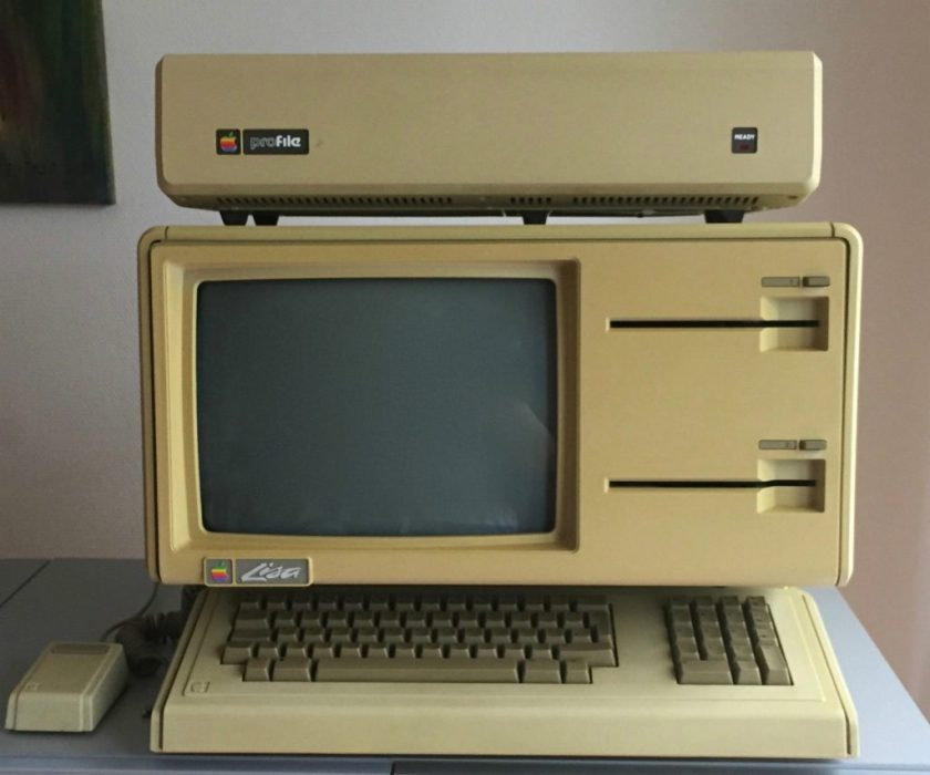 Apple Lisa 1 with Twiggy Drives
