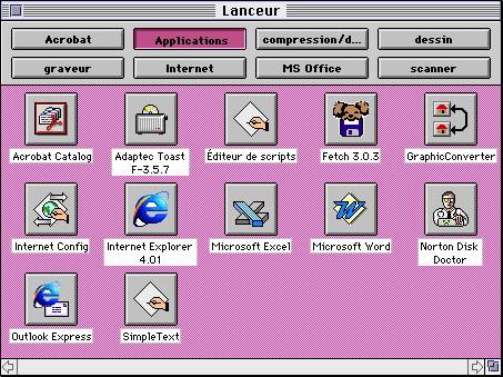 Le Lanceur de MacOS (Mac OS Launcher)
