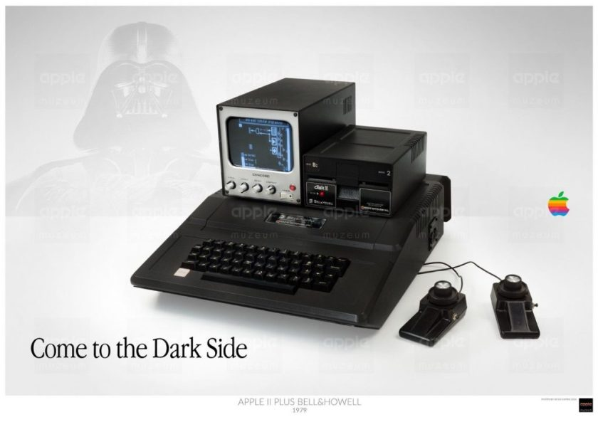 Musée Apple : Apple II Bell & Howell, Come to the Dark Side