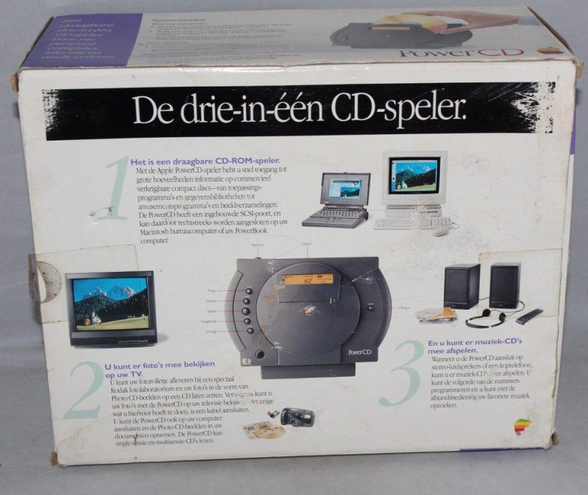 Un PowerCD dans son carton, en version néerlandaise