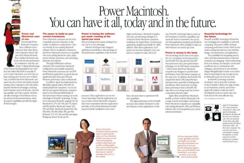 Apple PowerMacintosh : The Future is here