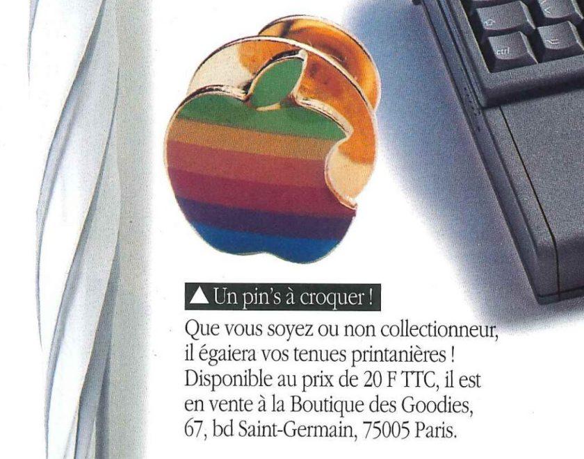 1993 pin's Apple