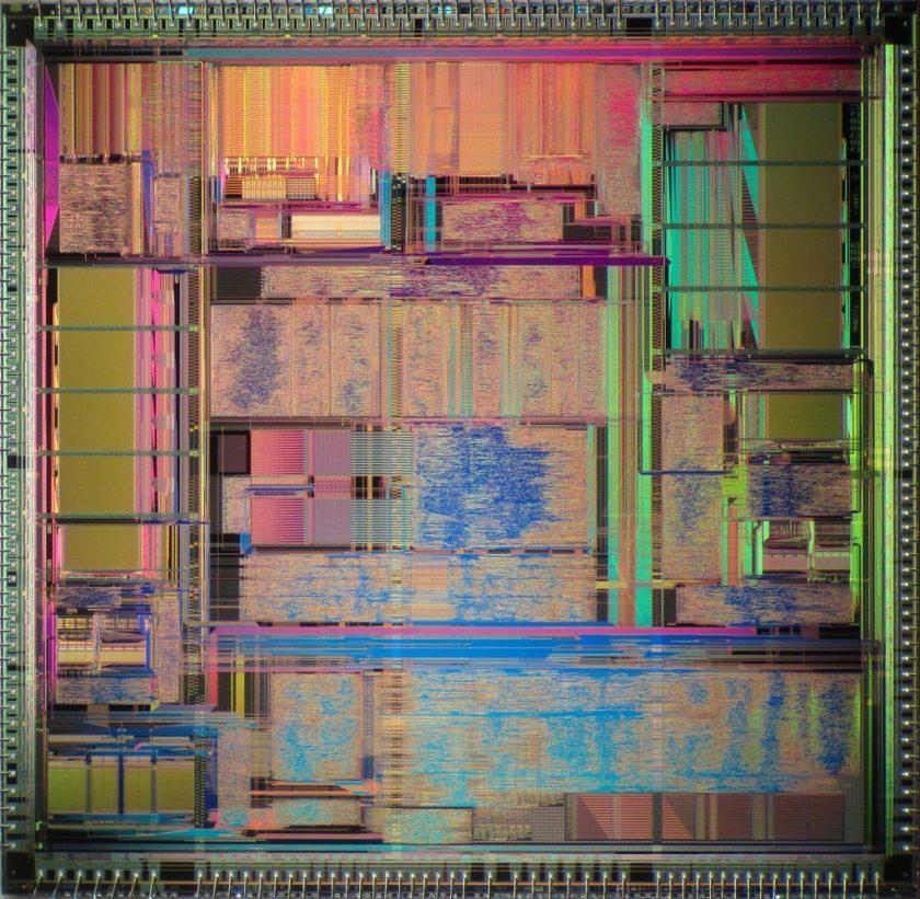 Motorola 60860 die
