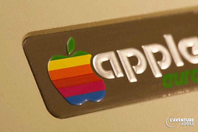 Apple logo, Apple II europlus 1979