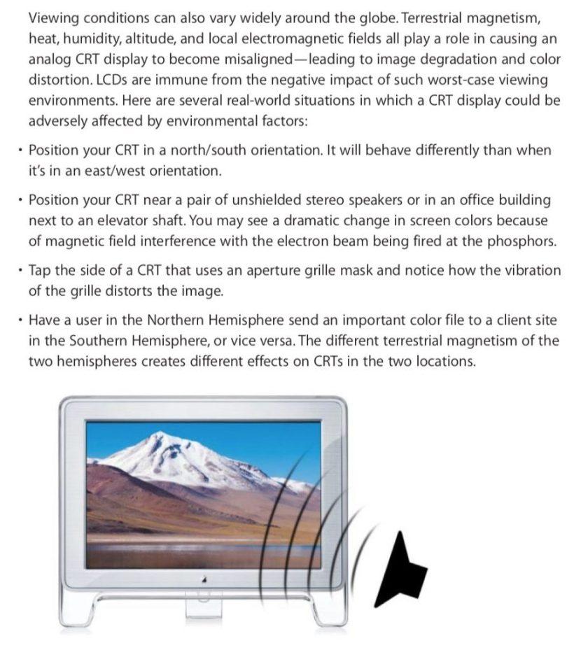 Apple CRT LCD