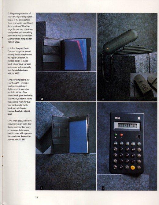 Apple Braun Calculator