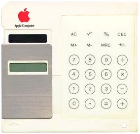 Apple Solar Floppy Calculator