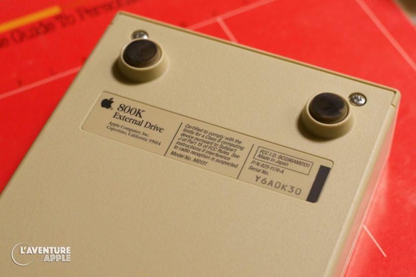Apple 800K External Drive FCC approval