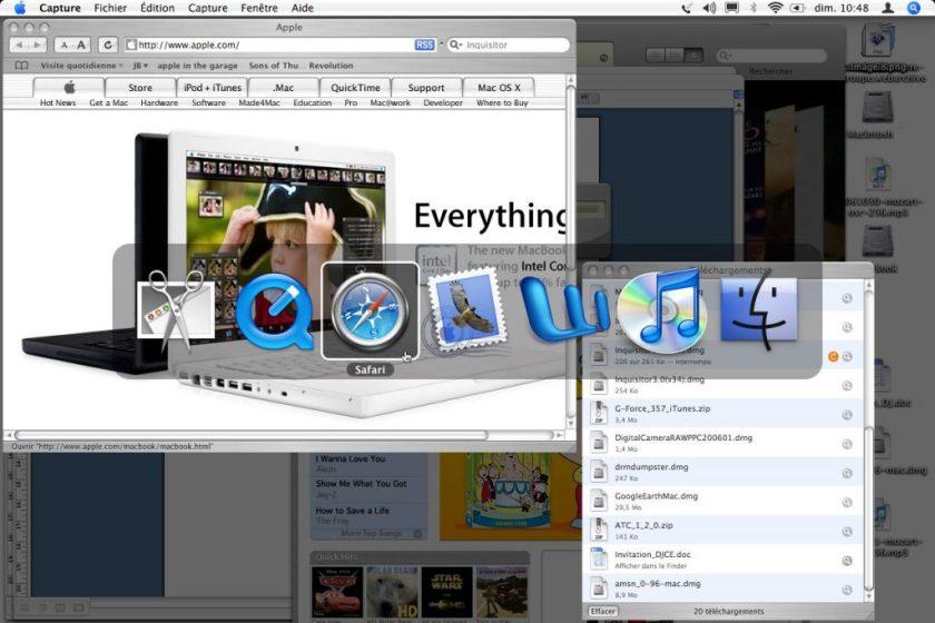 Mac OS X Exposé