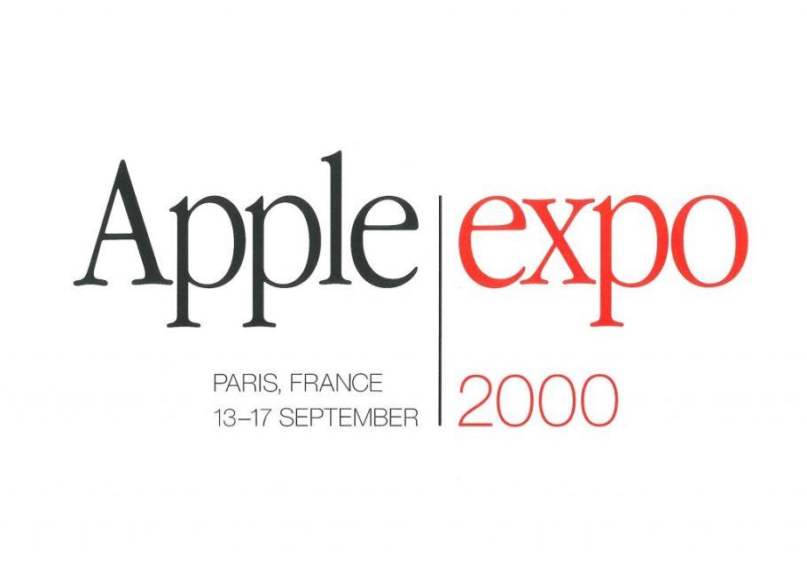Invitation Apple Expo 2000