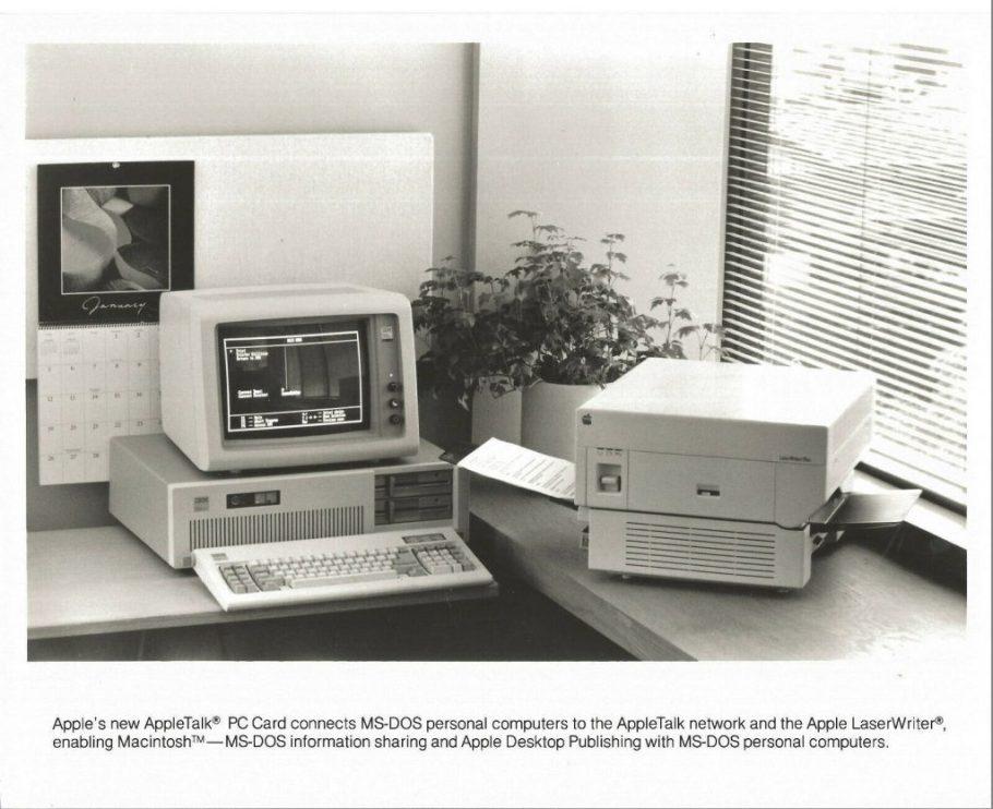 AppleTalk PC Card