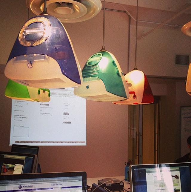 iMac G3 lamps