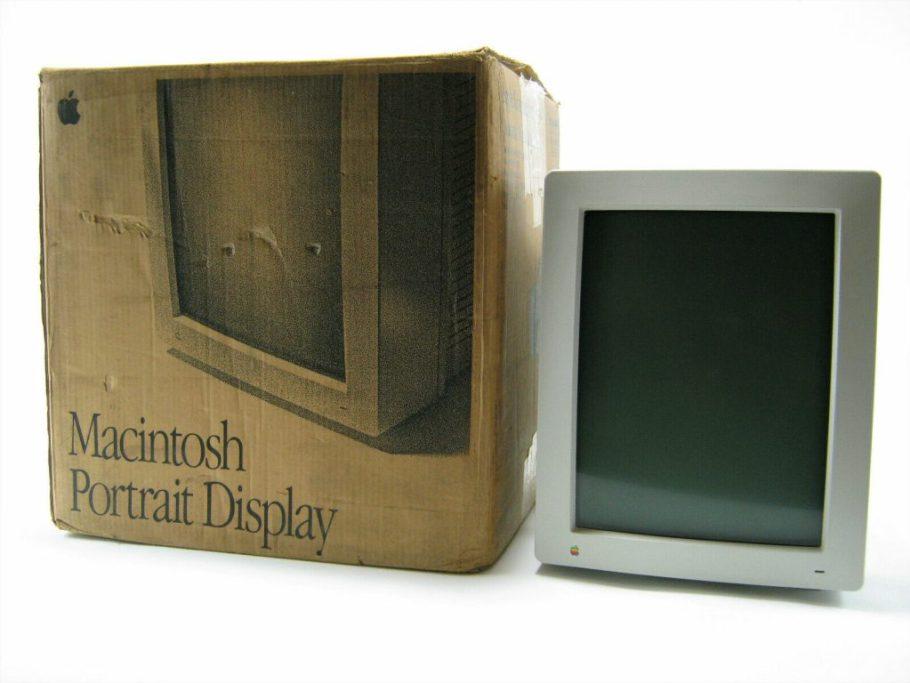 Apple Macintosh Portrait Display in box