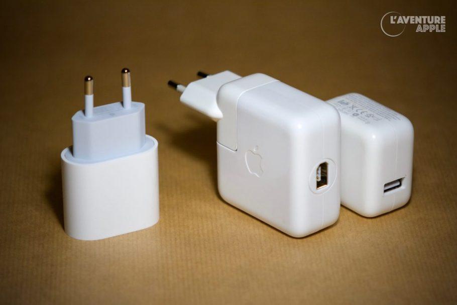 iPhone 11 pro power adapter vs iPod