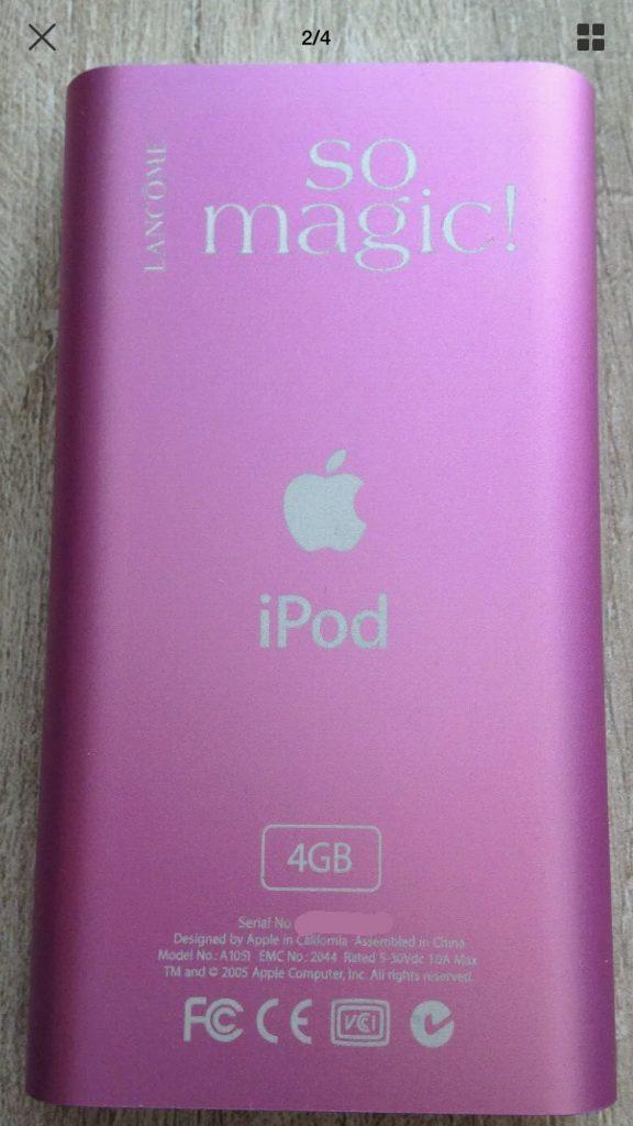 iPod mini Lancome