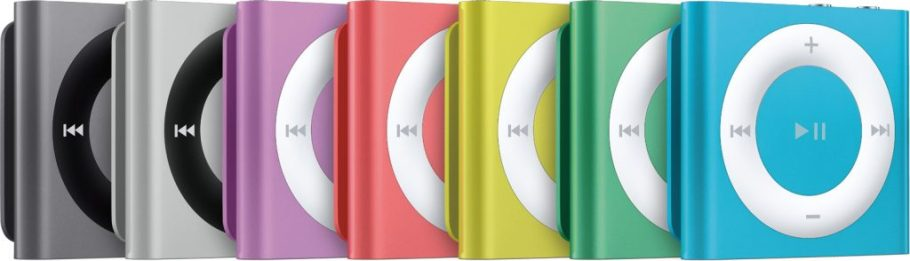 ipod couleurs