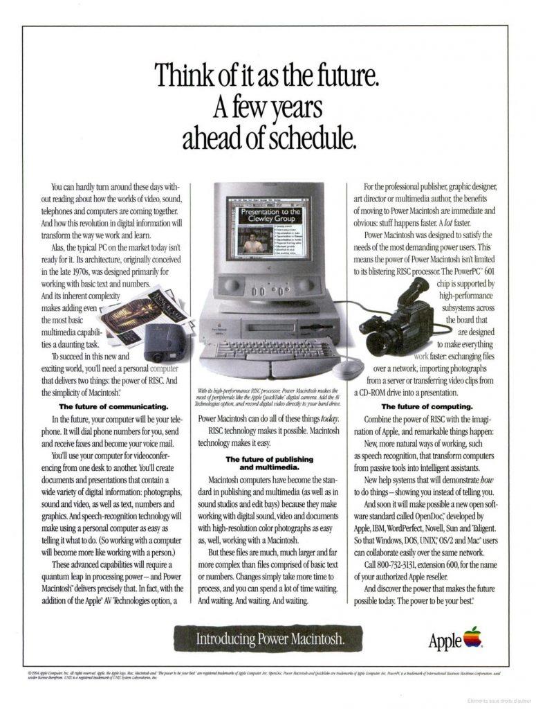 Apple 1994 Ad