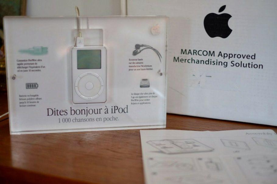 Apple MARCOM ipod présentoir