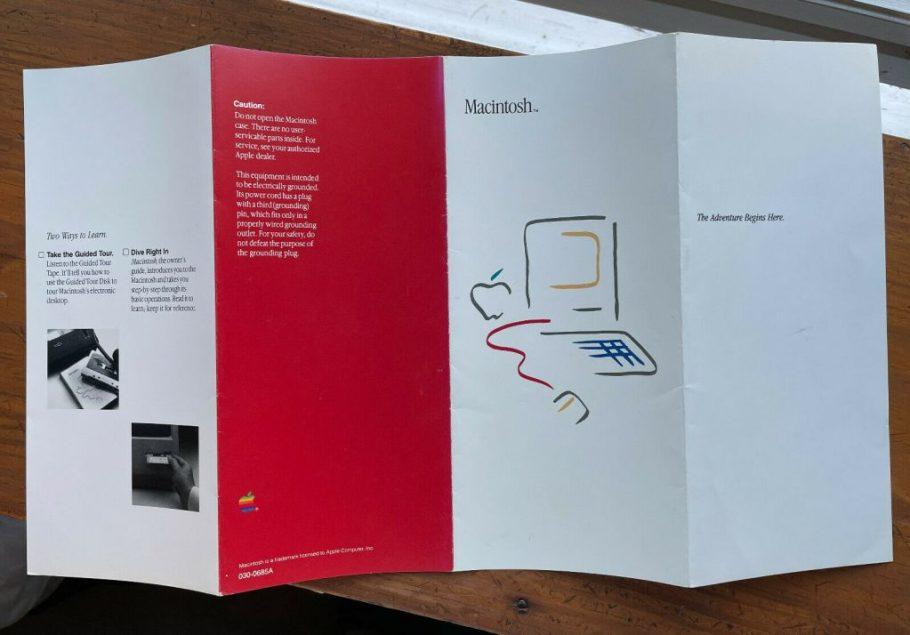 Appel Picasso Logo booklet