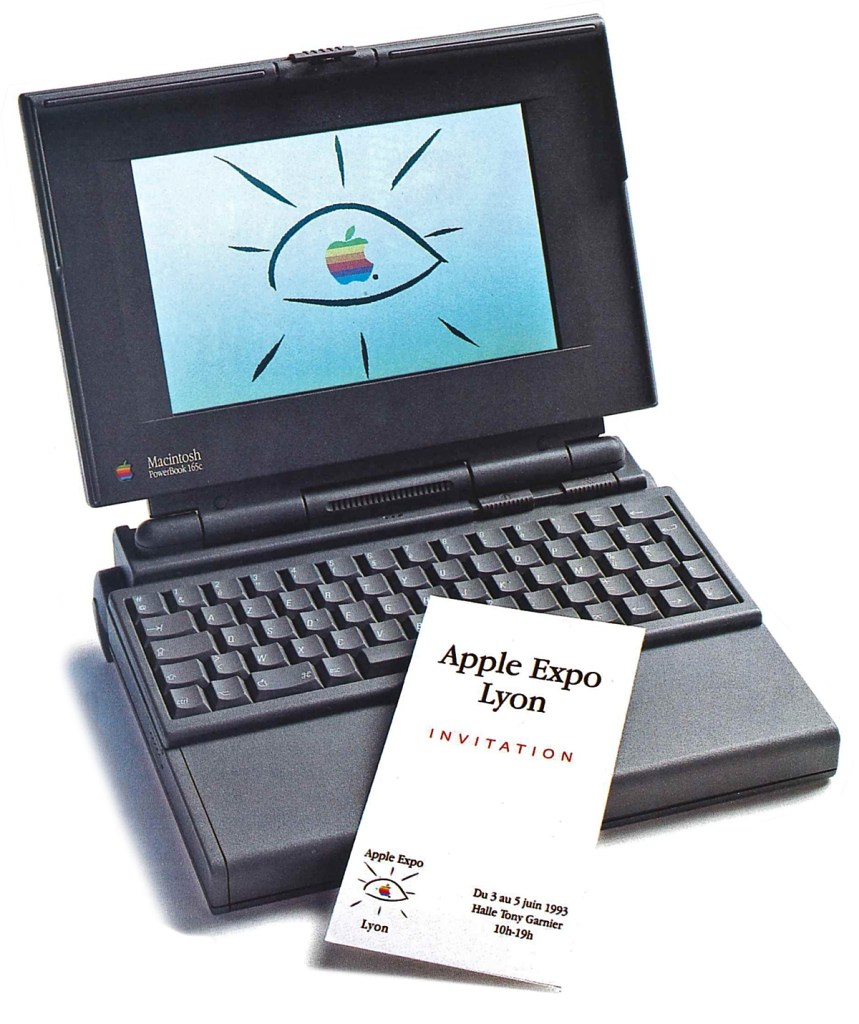 Une invitation à l'Apple Expo Lyon 1993