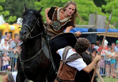 Nouveau spectacle équestre Les Celtes - Spectacle équestre Aventure au galop