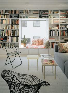 ces jolies biblioth ques aventure d co. Black Bedroom Furniture Sets. Home Design Ideas