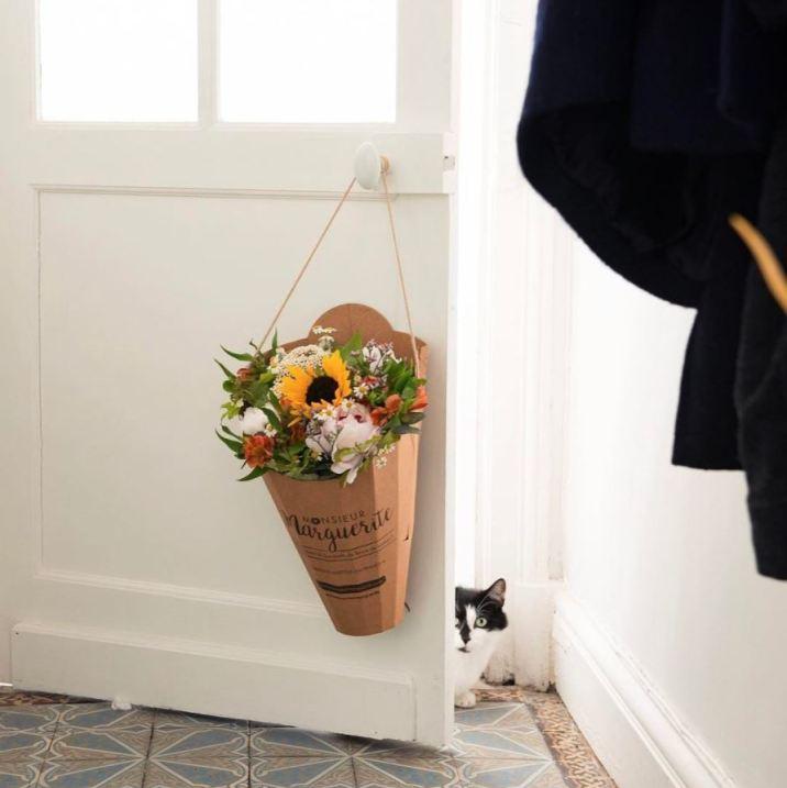 Monsieur Marguerite, une box qui vous permet de recevoir un bouquet de fleurs tous le mois
