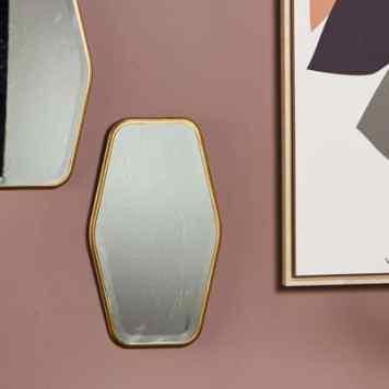 Miroir Hexagone - Athezza - 46€
