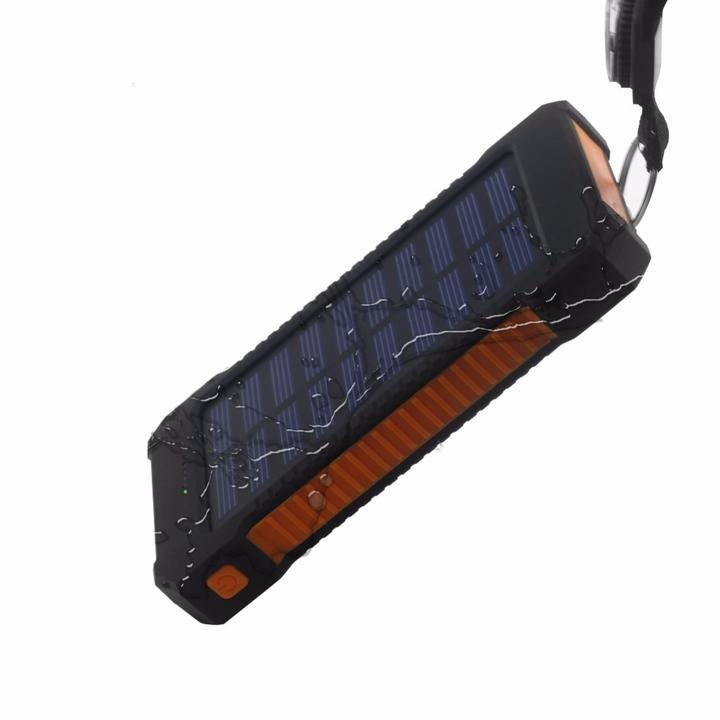 batterie solaire orange