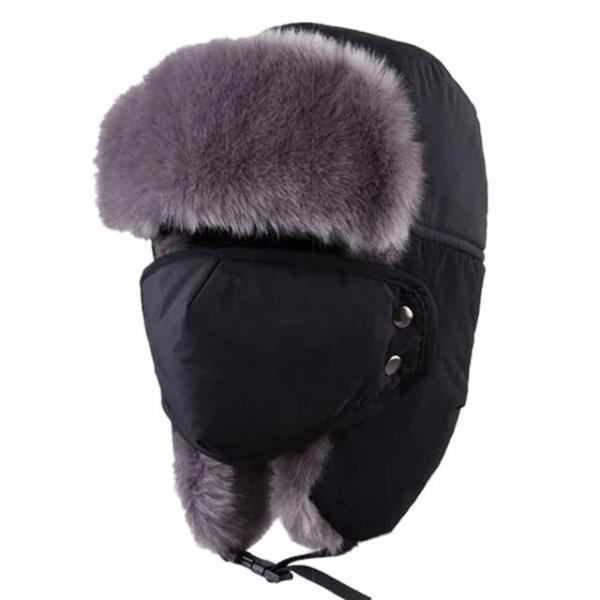Chapeau polaire noir